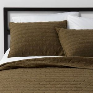 1 Project 62 Triangle Stitched Jersey Pillow Sham